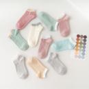 Icedoshow/艾丝朵秀 网红日系防滑短袜   5双装6.9元(需用券)