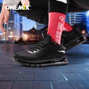 神价格!耐克代工厂、全掌氮气气垫:onemix 玩觅 全掌气垫男女减震跑步鞋