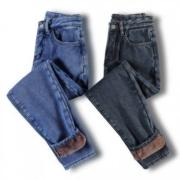ZUOAN 左岸 ZB6864070 女士直筒牛仔裤