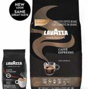 prime会员!意大利进口 LAVAZZA 乐维萨 意式浓缩咖啡豆 1kg  到手约¥104