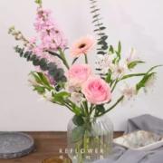 PLUS会员:花点时间 秘密花园混合花束