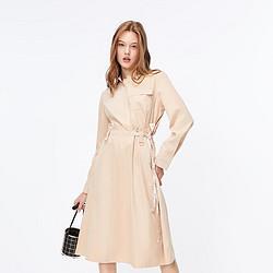 ONLY 119307580 女士工装假两件连衣裙