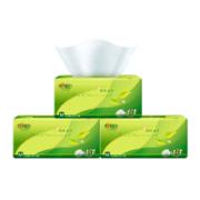 心相印抽纸 茶语丝享系列3层150抽面巾纸*3包