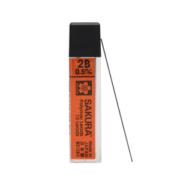 京东PLUS会员: SAKURA 樱花 XK-5A#2B 防断自动铅笔芯 0.5mm/2B