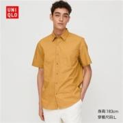 UNIQLO 优衣库 427315 男装 印花衬衫(短袖)