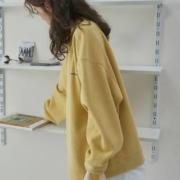 Tonlion 唐狮 625429025409301 女款假两件卫衣