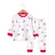 ANBAOER 安宝儿 儿童纯棉睡衣套装