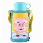 TIGER虎牌 儿童保温杯吸管杯 MBR-T06G 600毫升 国际版