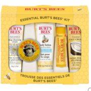 Burt's Bees 小蜜蜂 精选五件套装礼盒 洁面乳20g+护手霜8.5g+身体乳25g+护足霜25g+润唇膏4.25g