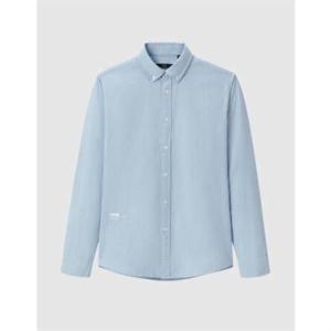 HLA 海澜之家 HNEAD1D003A 男士休闲长袖衬衫