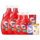 OMO 奥妙 除菌除螨系列 洗衣液 3kg*2瓶+1kg*2瓶+400g*1袋 桉树艾草香74.9元(需运费)