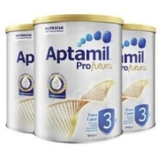 Aptamil 爱他美 白金版 婴儿奶粉 3段 900g 3罐