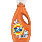 Tide 汰渍 全效360系列 洗衣液 1kg/瓶 洁雅百合 *7件