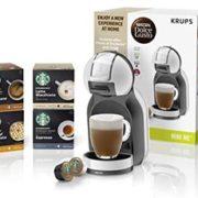 Krups 克鲁伯 Nescafé Dolce Gusto KP123B43 Mini Me胶囊咖啡机 含星巴克咖啡胶囊4盒(共48颗)  含税到手约¥483¥443.18