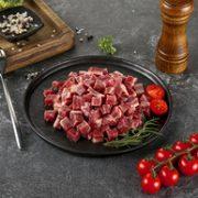 300gx6件,BRIME CUT 谷饲原切和牛M4+雪花牛肉粒