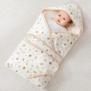 A类品质!Elepbaby 象宝宝 婴儿抱被睡袋 90X90cm 蜗牛历险记 35元(需用券)