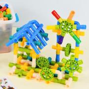 42件套儿童水管道积木益智力玩具