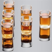 Zoikou 象扣 玻璃白酒杯 6个