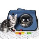 DOPOLO 德普乐 猫包 外出手提斜跨单肩太空舱 宠物狗背包19.9元包邮(需用券)