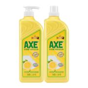 聚划算百亿补贴:AXE/斧头牌洗洁精维E护肤1.18kg*2
