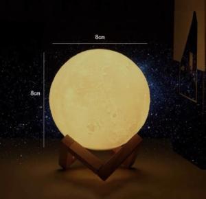 诺沃伦 3D装饰灯 月球灯+支架