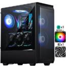 PHANTEKS 追风者 P300A ATX电脑机箱(金属散热防尘面板/支持280水冷/配风扇/防尘)