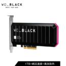 Western Digital 西部数据 WD_BLACK AN1500 1TB SSD固态硬盘 PCIe Gen3 x8接口