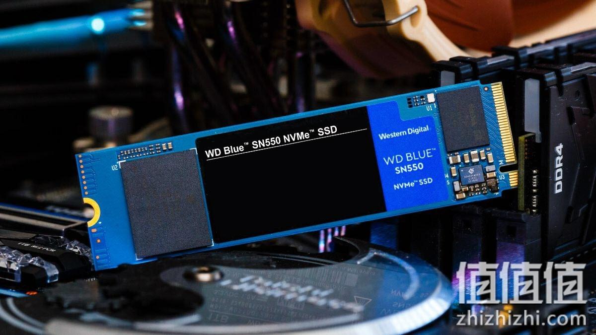 WD Blue SN550评测