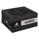 USCORSAIR 美商海盗船 AX850 钛金认证 额定850W 低噪音 全模组化线材 台式机电源