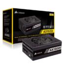 USCORSAIR 美商海盗船 AX1600i 1600W 电脑电源(全模组数字/80PLUS钛金认证/十年质保)