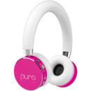 Puro Sound Labs BT2200s 音量限制儿童蓝牙耳机 – 桃红色