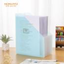 KOKUYO 日本国誉 淡彩曲奇 可立式风琴包多层文件夹 A4横款 12层13袋