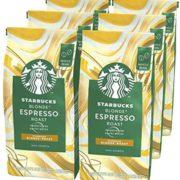 Starbucks星巴克 BLONDE Roast 黄金烘焙咖啡豆200g*6袋  到手约¥251