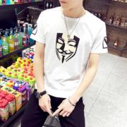 【新款】夏季潮牌纯色短袖纯棉T恤