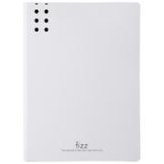 京东PLUS会员: fizz 飞兹 A2385 加厚A4单强力文件夹板(含插页) 白色 *3件