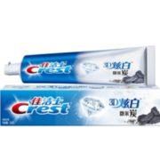 Crest 佳洁士 3D炫白 微米炭 牙膏 120g