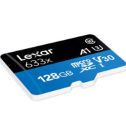 Lexar 雷克沙 633X TF存储卡 128GB Class10 u3 4k 读100MB/s