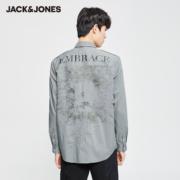 Jack Jones 杰克琼斯 220205502 男士工装衬衫99元包邮(需用券)
