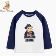 CLASSIC TEDDY 精典泰迪 儿童T恤长袖 *2件39.8元包邮(双重优惠,合19.9元/件)