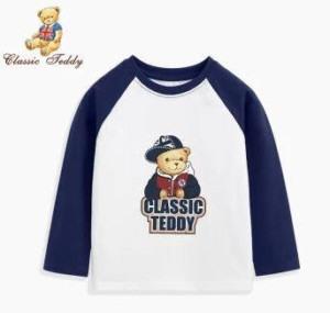 CLASSIC TEDDY 精典泰迪 儿童T恤长袖 *2件