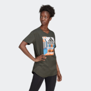 adidas 阿迪达斯 W MH Graphic T 女装 短袖T恤 ED617479元包邮(需用券)