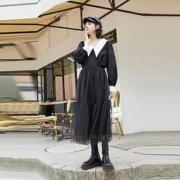 VeroModa 320351008S59 女士优雅小尖领雪纺衫