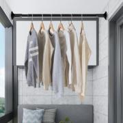 家用晾衣杆免打孔伸缩杆窗帘杆浴帘杆