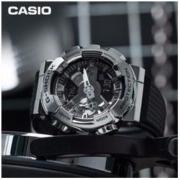 CASIO G-SHOCK GM-110-1A 男士运动腕表礼盒装 COMBACK斜挎包