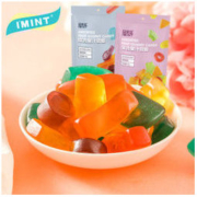 IMINT 流心果汁qq软糖 80g *5件