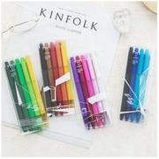 kinbor x DTD10007-FX 中性笔 5支 非联名款9.9元包邮(需用券)