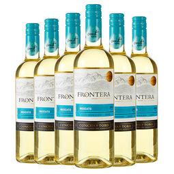 缘峰 莫斯卡托甜白葡萄酒 750ml*6瓶