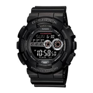 88VIP、新低价!Casio 卡西欧 G-Shock系列 GD-100-1BDR 男士双显防水防震运动腕表