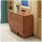 HUANASI 华纳斯 实木可伸缩折叠餐桌 1.3m