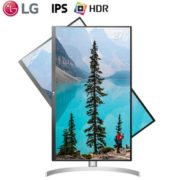 12日0点: LG 27UL550 27英寸IPS显示器(4K、98%sRGB、HDR10、FreeSync)